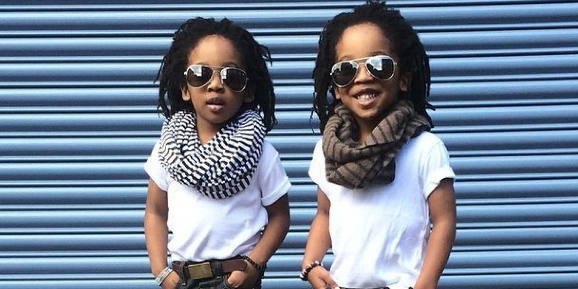 These Stylish Twins Have Way More Swagger Than You