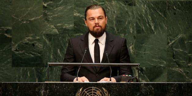 """Leonardo DiCaprio beim UN-Gipfel zum Klimawandel in New York: """"Sie können Geschichte schreiben"""""""
