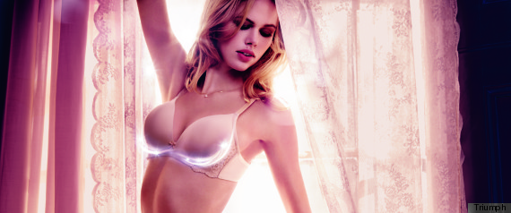 The new Magic Wire bra available in a range of styles up to an F cup