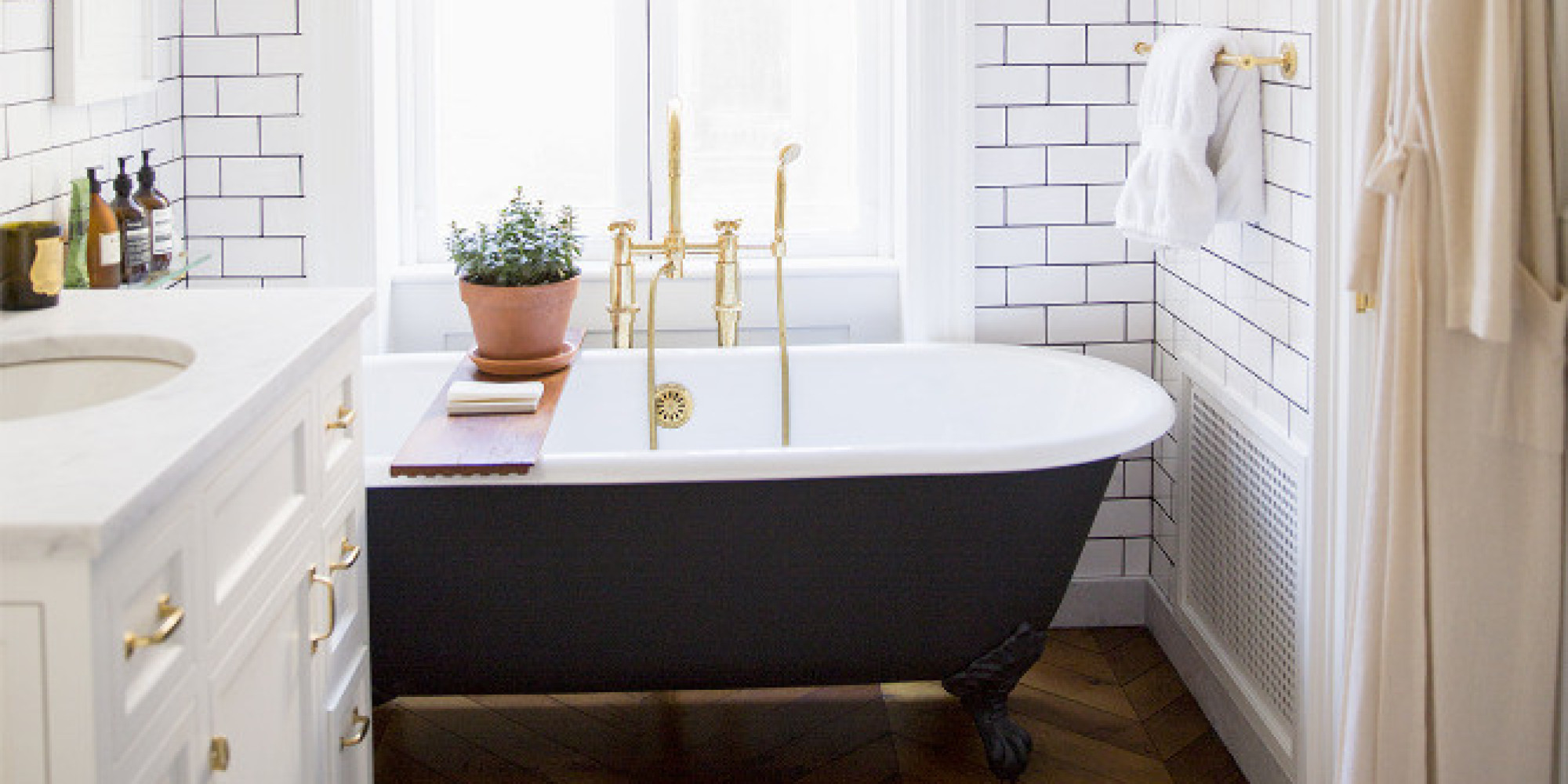 The 6 Biggest Bathroom Trends Of 2015 Are What We've Been Waiting For |  HuffPost