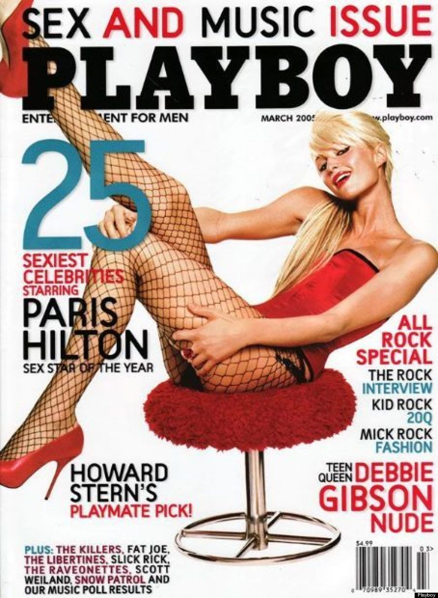 paris hilton playboy