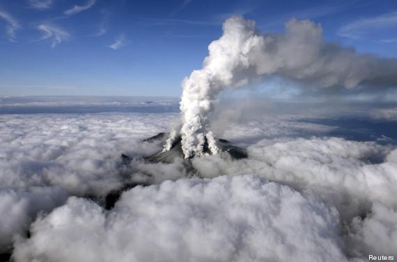 volcan japon