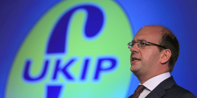 Ukip's Mark Reckless delivers his speech during the Ukip annual conference at Doncaster racecourse in South Yorkshire.