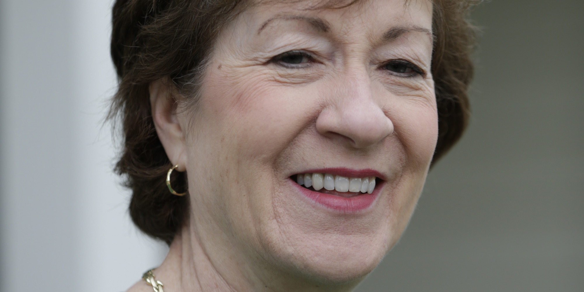 Sen Susan Collins RMaine a key swing vote on President Trumps next Supreme Court pick said Sunday she would not vote for any judge who would