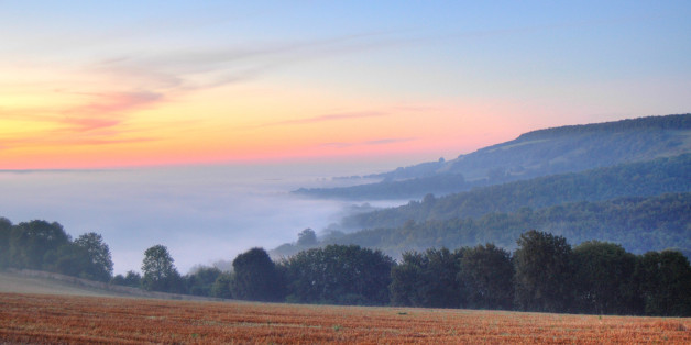 One of a series of HDR images taken between dawn and sunrise in early September in England