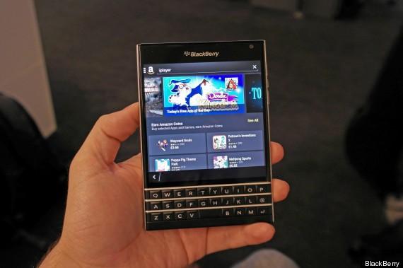 blackberry passport app store
