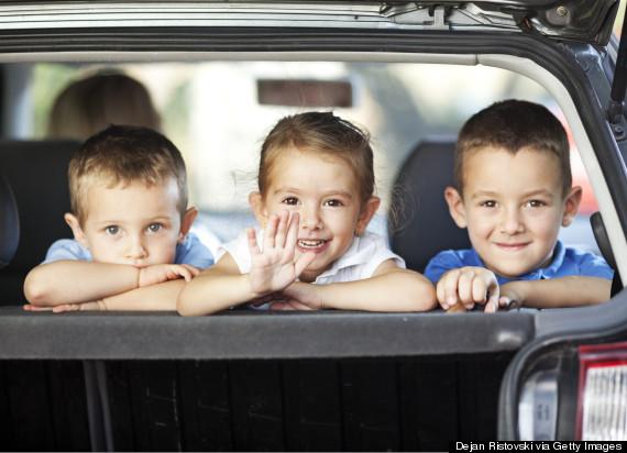 car journey kids
