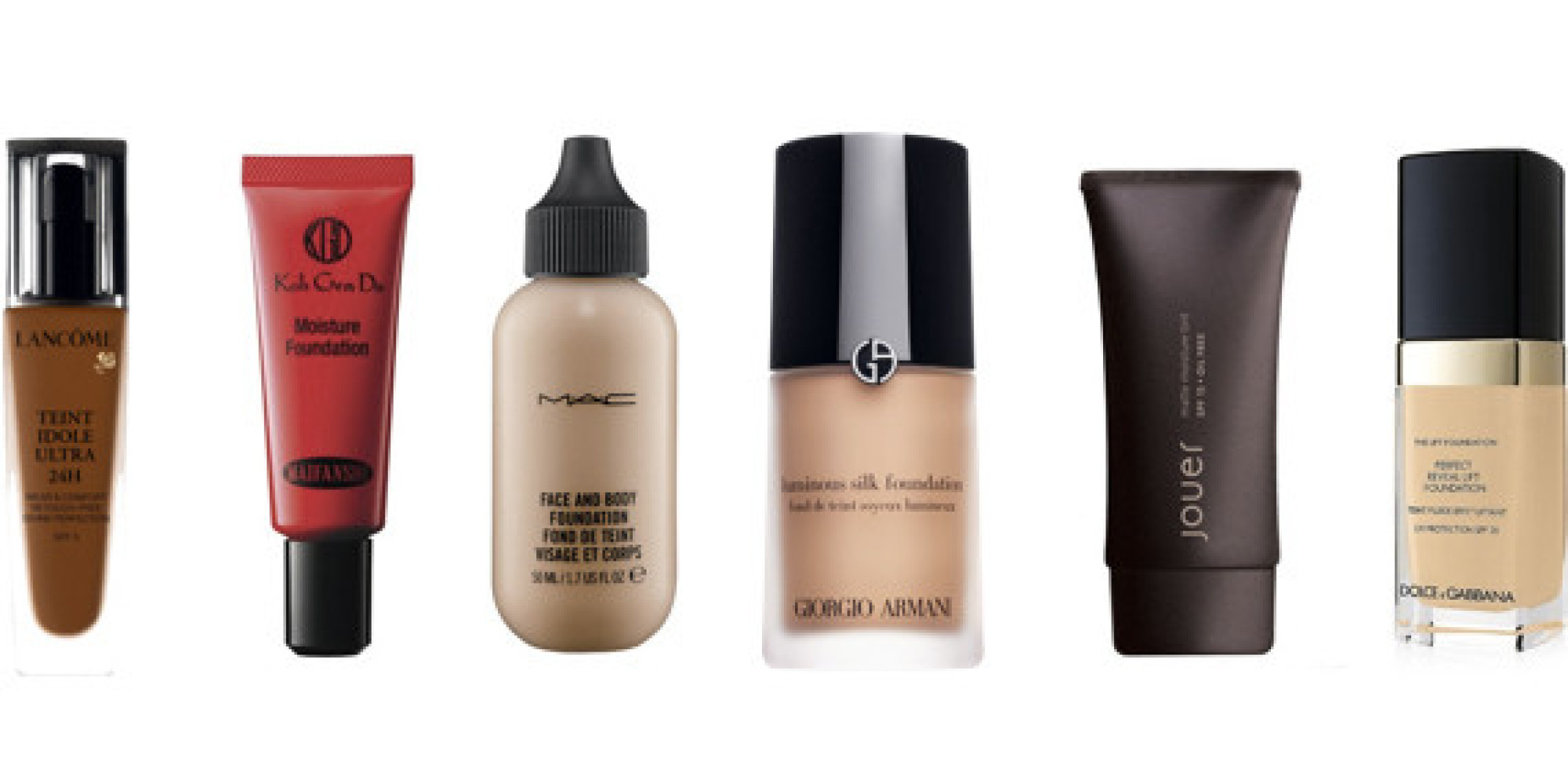 The Six Best Fall Foundations. Period.