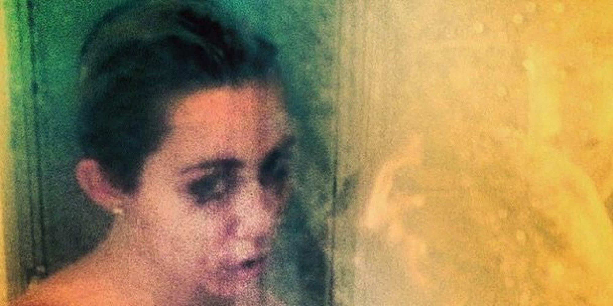 naked selfie cyrus Miley