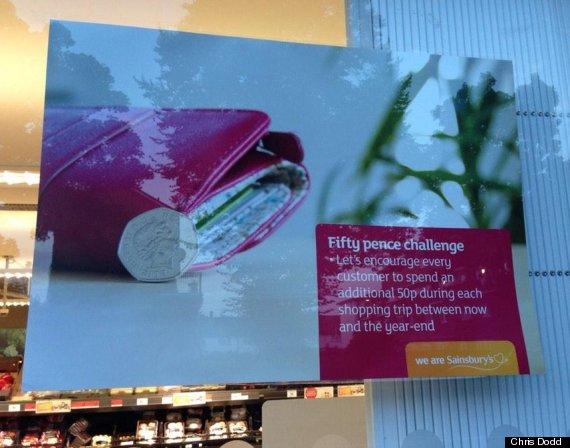sainsburys poster
