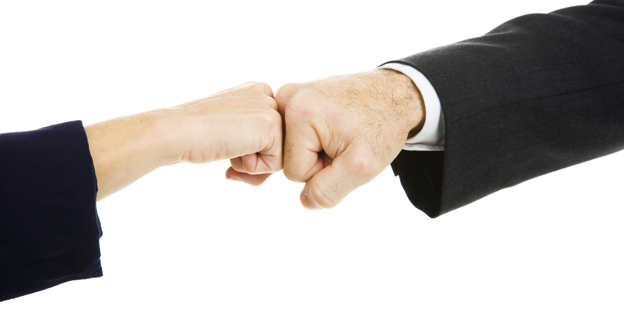Lets Ban Handshakes At Work And Start Fist Bumping Huffpost