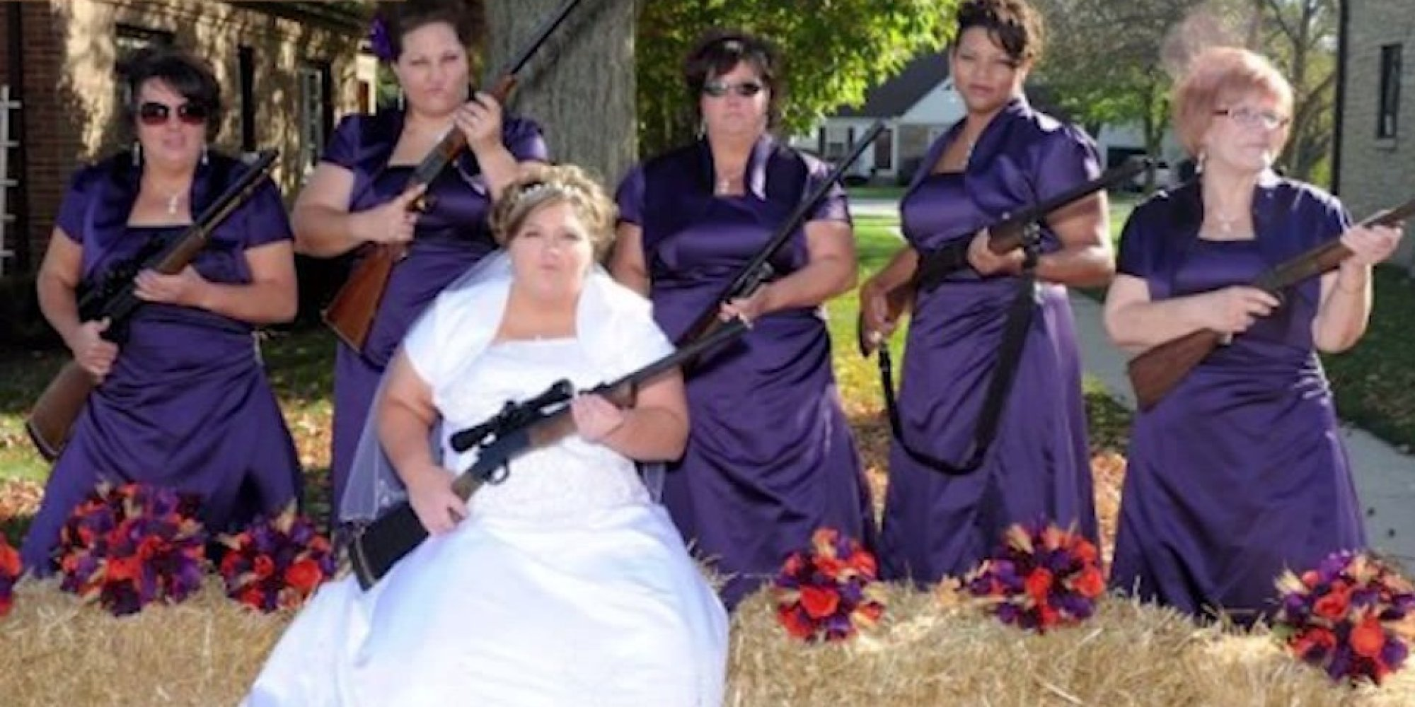 These bridesmaids photos are a train wreck and we just cant look these bridesmaids photos are a train wreck and we just cant look away huffpost junglespirit Image collections