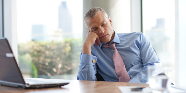 50歳の男はいつも疲れた
