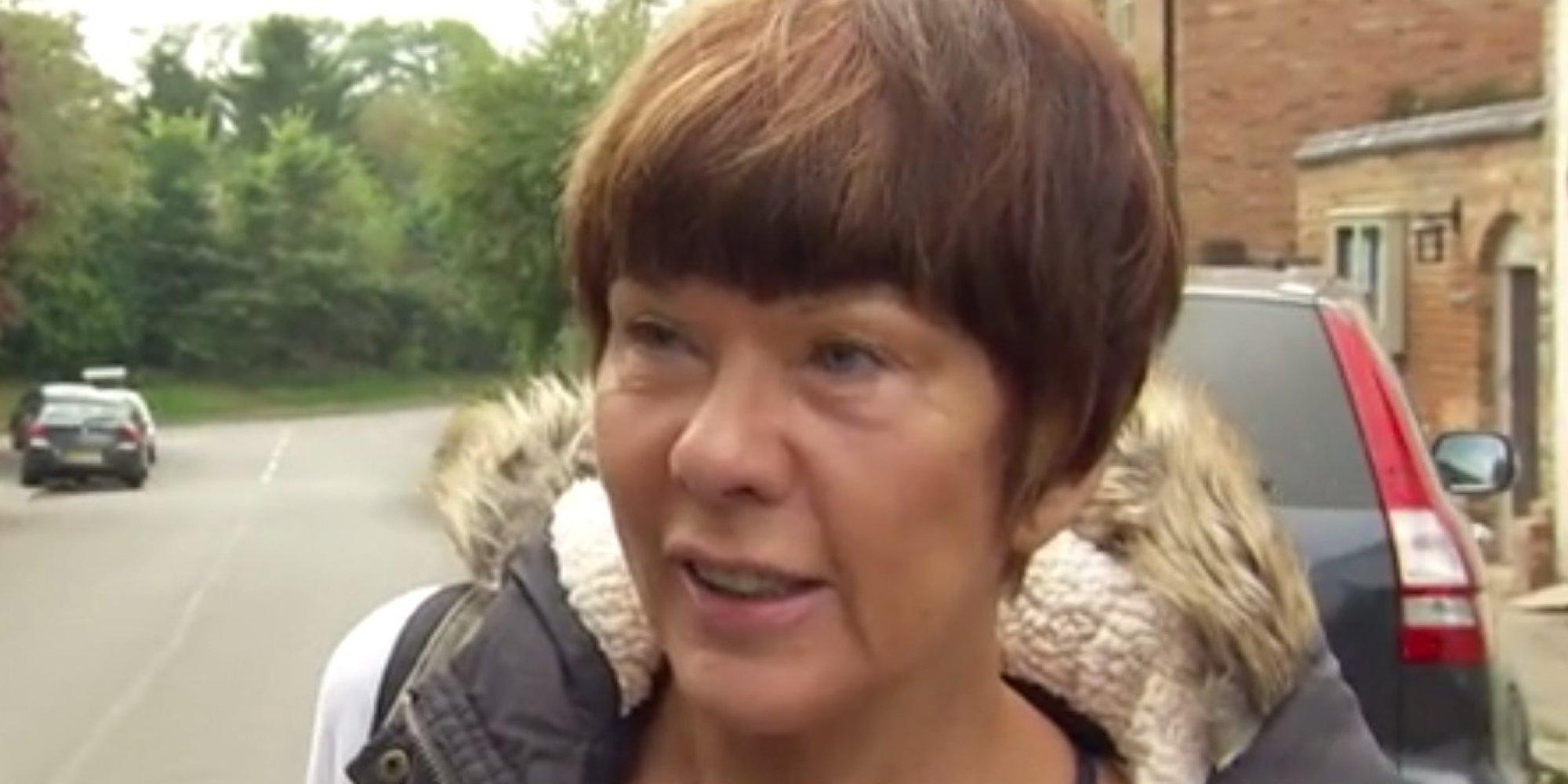 Technology Management Image: Sky Reporter Martin Brunt's Doorstep Of Brenda Leyland