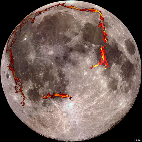 nasa there is a giant square structure hidden under the moon
