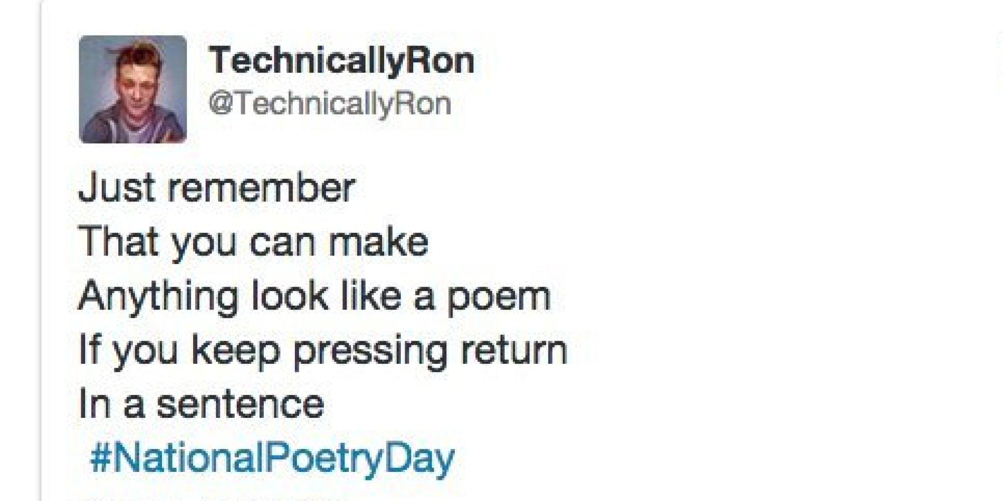 Dumb poems