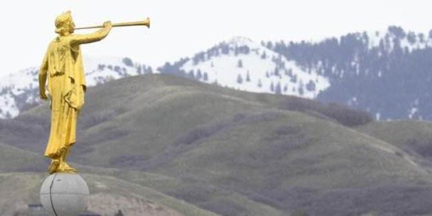 angel moroni statues grace the spires of mormon temples around the