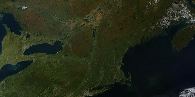 Voici à quoi ressemble le passage des saisons vu de l'espace