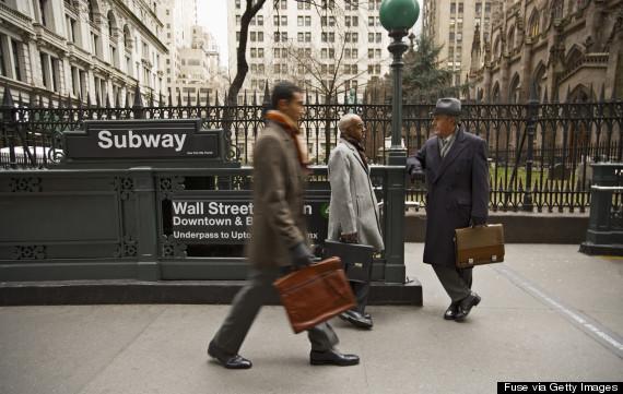 people on subway