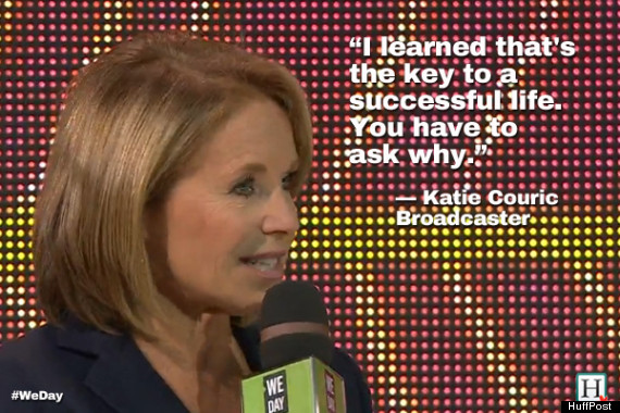 katie couric we day