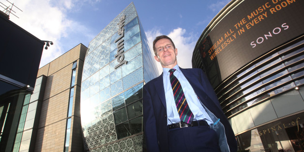 John Lewis managing director Andy Street at the John Lewis store in Westfield Stratford.