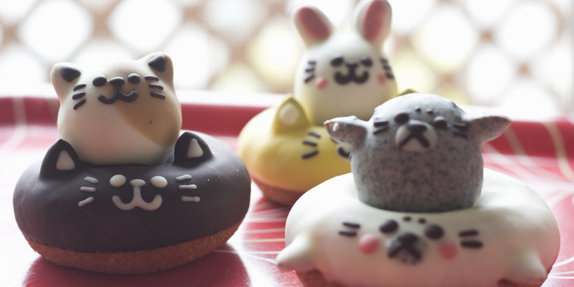 Call Off The Search The Cutest Kitty Cat Donuts Have Been