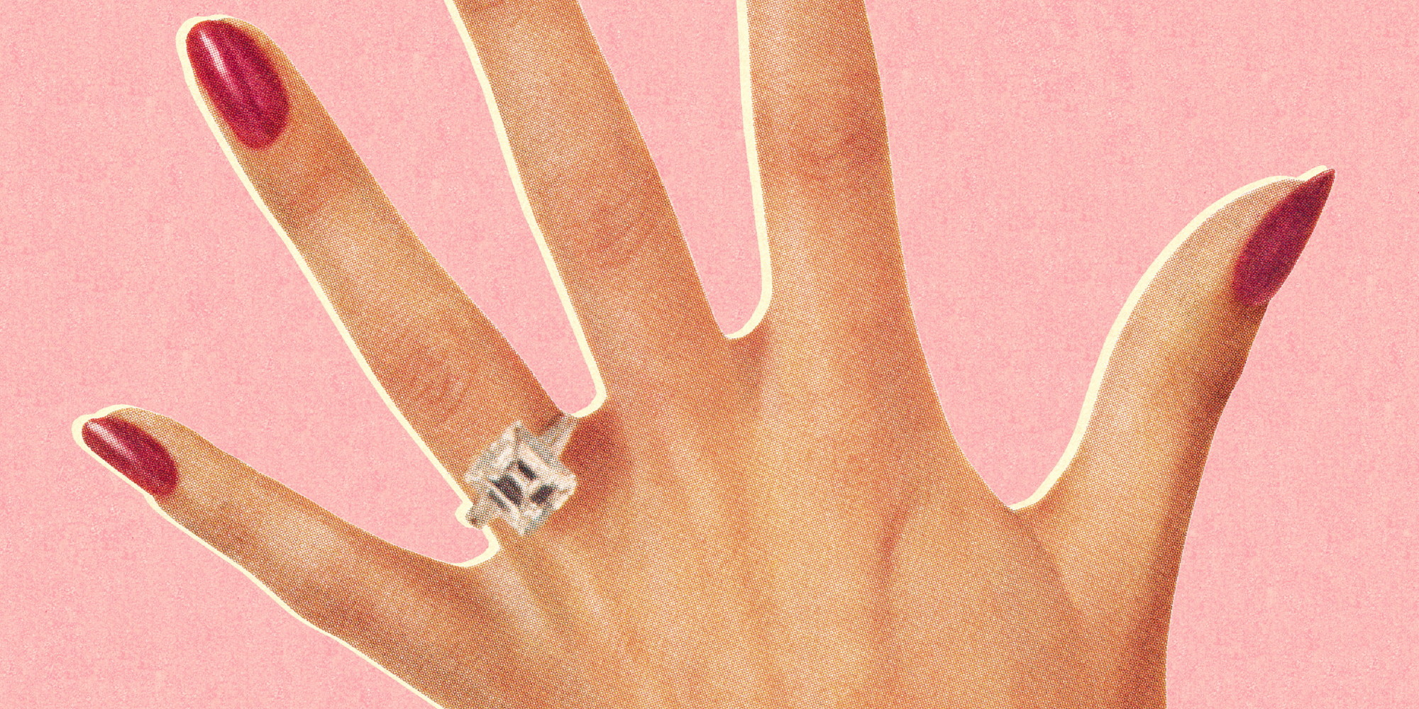 what the cost of your engagement ring may say about your marriage huffpost - Wedding Ring Cost