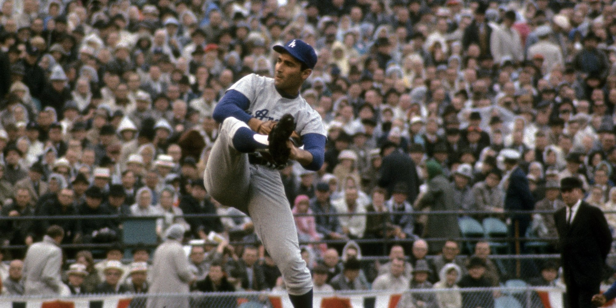Sandy Koufax baseball stats with batting stats pitching stats and fielding stats along with uniform numbers salaries quotes career stats and biographical data