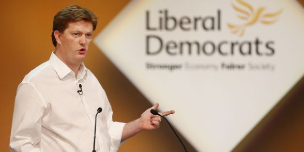 hief Secretary to the Treasury Danny Alexander speaking during day two of the Liberal Democrat autumn conference at the Clyde Auditorium in Glasgow, Scotland.