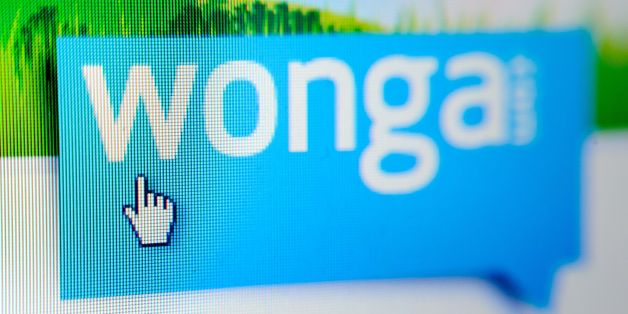 General view of the website of payday loan company Wonga, as the company has entered the online payment industry by offering shoppers the option of borrowing cash to fund their web purchases.