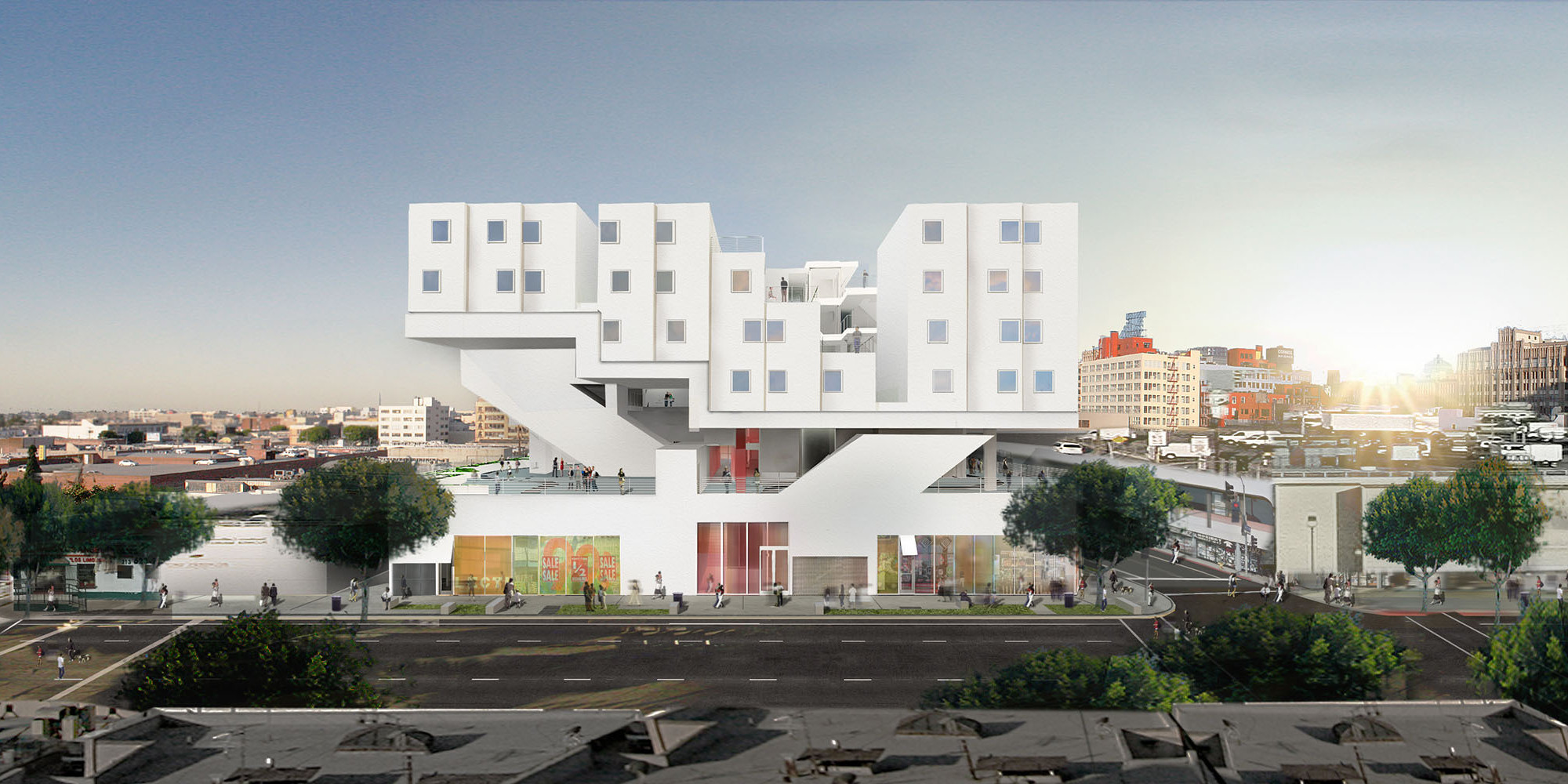 New skid row homeless apartment complex has a running for Homeless shelters los angeles