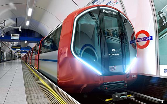 London Underground's Futuristic New Trains Are 'Driverless'