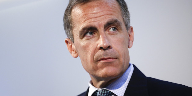 Mark Carney, governor of the Bank of England, pauses as he speaks during the Commonwealth Games Business Conference in Glasgow, U.K., on Wednesday, July 23, 2014. With less than two months to go before the Sept. 18 referendum on independence, the pound remains a key area of contention along with Scotland's membership of the European Union, pensions and social security spending. Photographer: Simon Dawson/Bloomberg via Getty Images