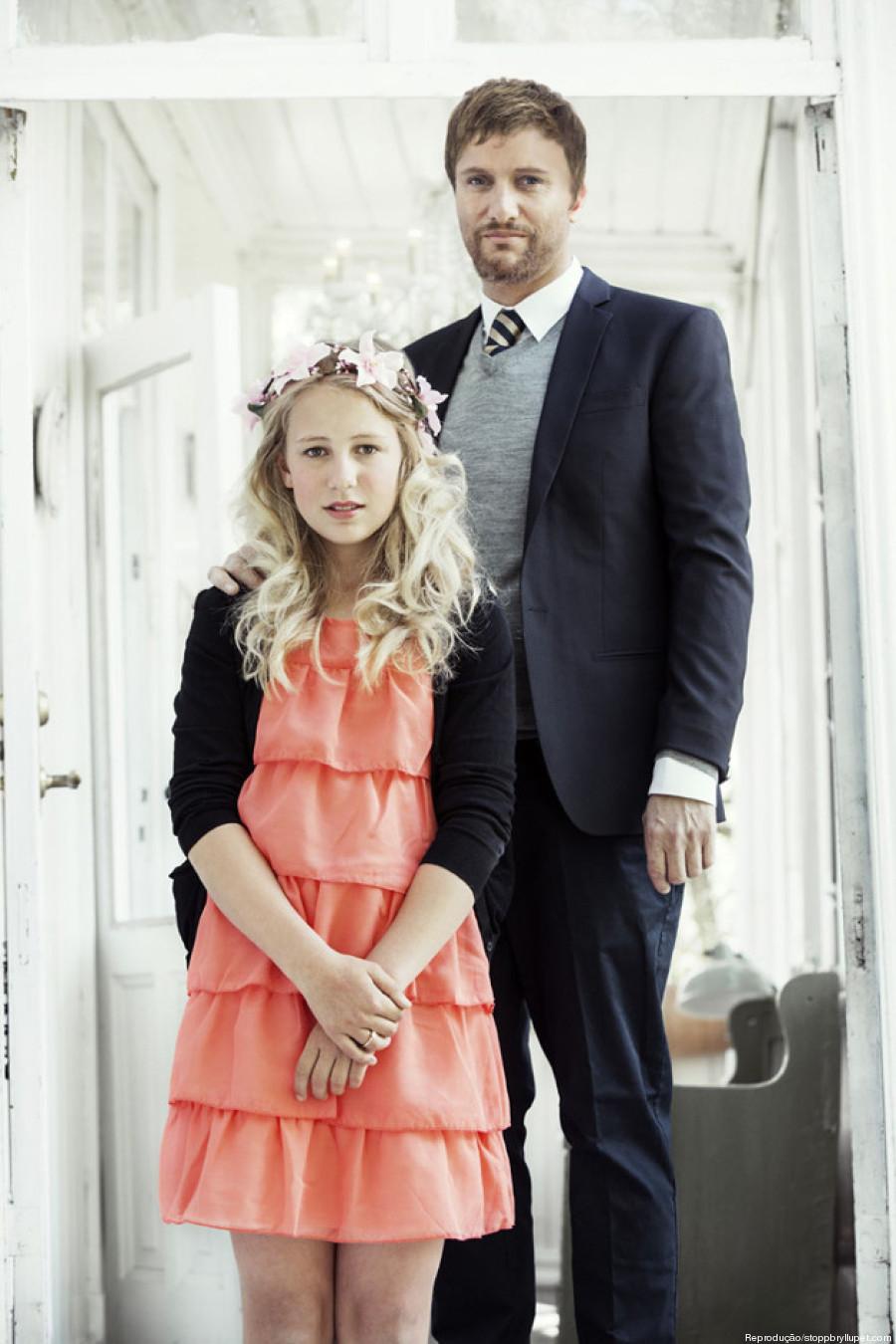 menina norueguesa casamento