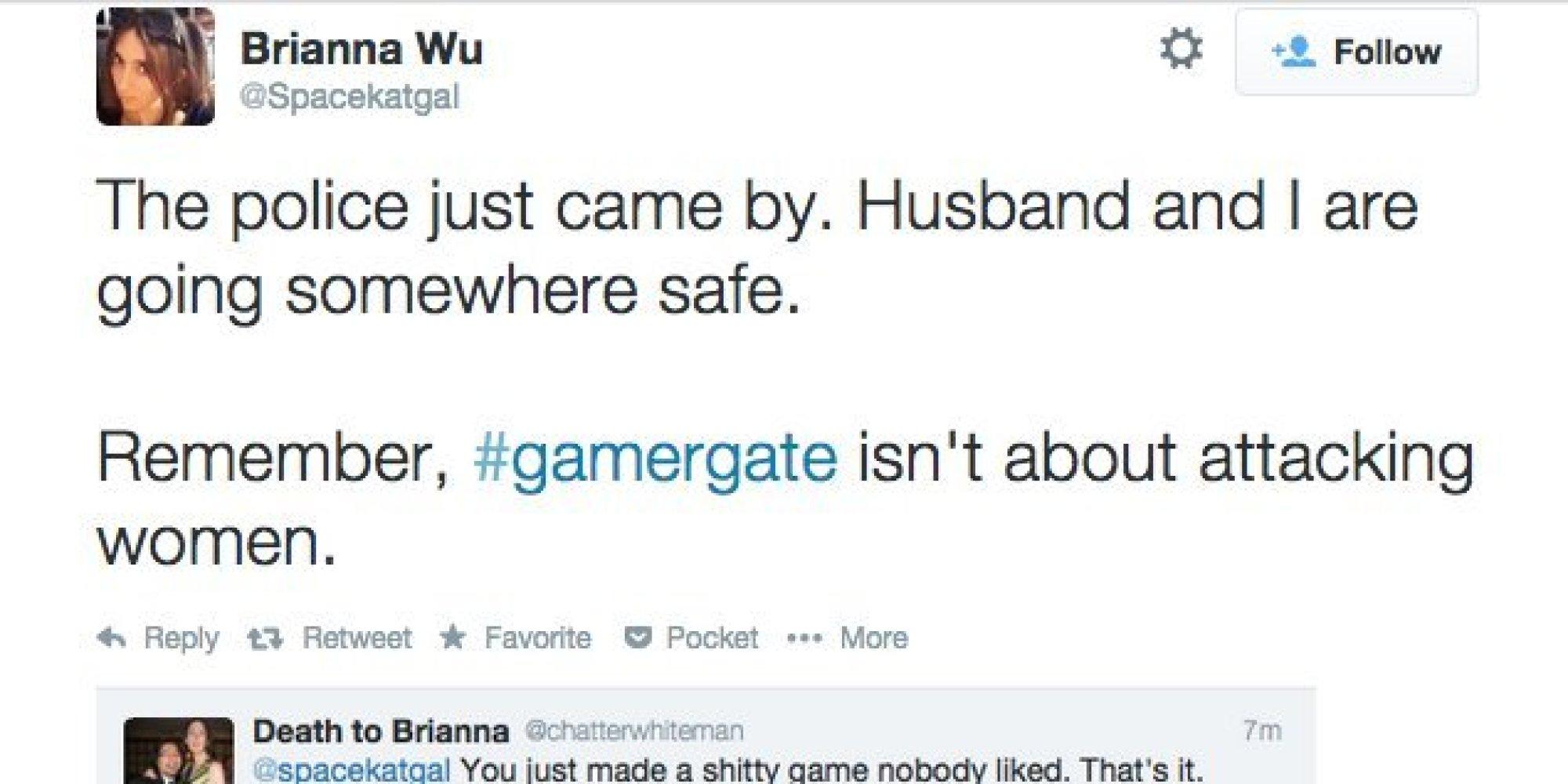 Regarding GamerGate Victim Brianna Wus Congressional