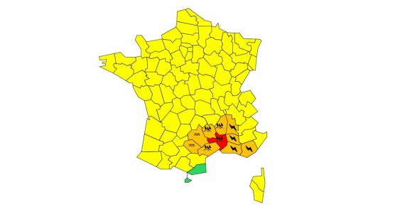 orages sud france
