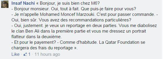 enquete exclusive commentaire