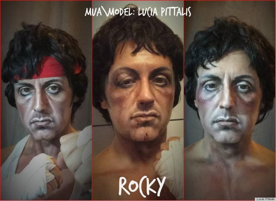 rocky movie makeup