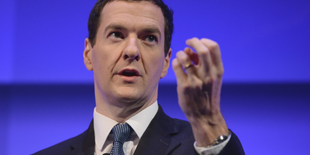 Chancellor of the Exchequer George Osborne speaks during the Institute of Directors annual conference at the Royal Albert Hall, London.