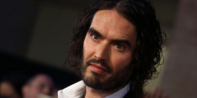 LONDON, ENGLAND OCTOBER 06: Russell Brand attends the Pride of Britain awards at The Grosvenor House Hotel on October 6, 2014 in London, England. (Photo by Mike Marsland/WireImage)