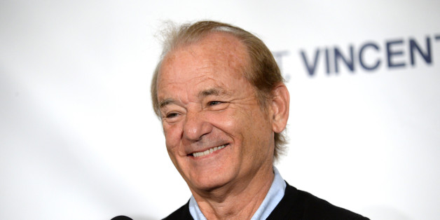 """Bill Murray has credited a painting for saving his life. Here, Murray attends the press conference for """"St. Vincent"""" on day 4 of the Toronto International Film Festival at the Trump International Hotel on Sunday, Sept. 7, in Toronto."""