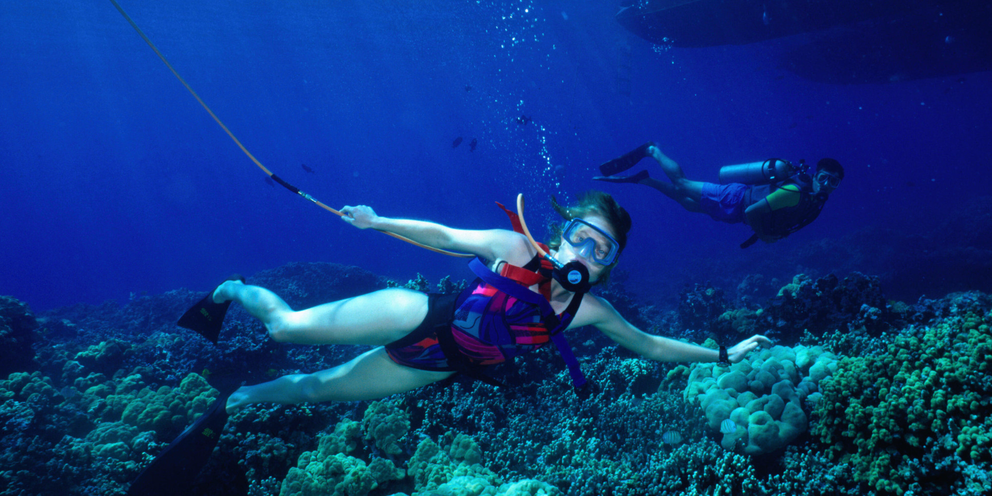 SNUBA Is Basically Like Scuba Diving Or Snorkeling, But