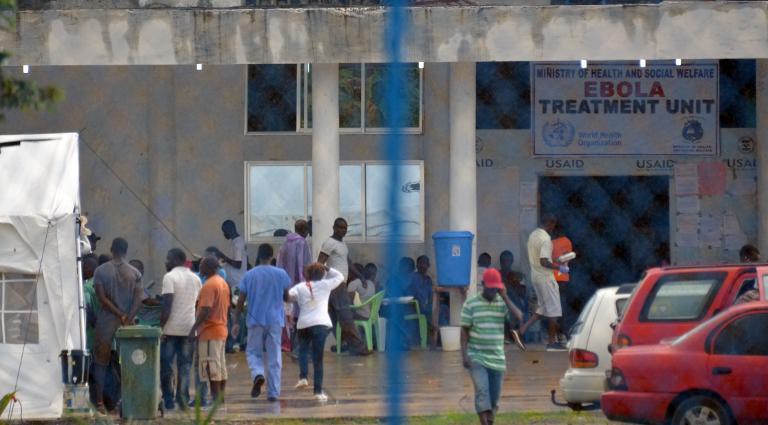 entrée de la clinique island à monrovia