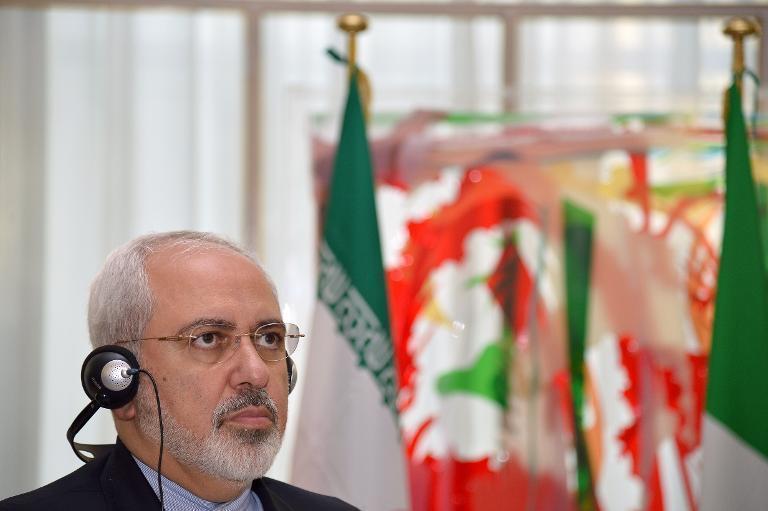 le ministre iranien des affaires étrangères moha