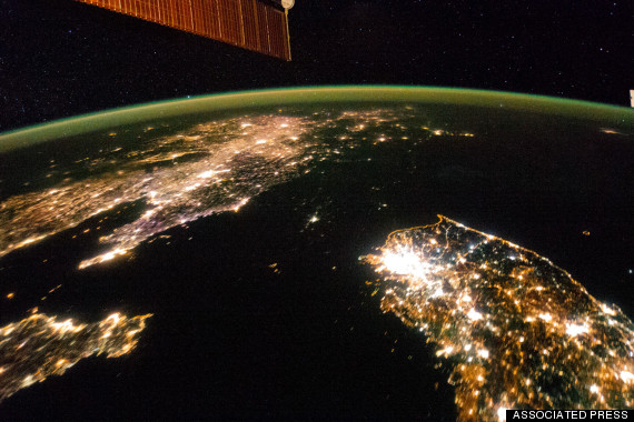 international space station north korea