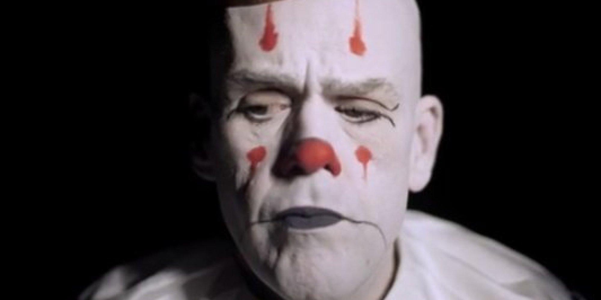a pitiful clown singing u0027hallelujah u0027 is a strange kind of