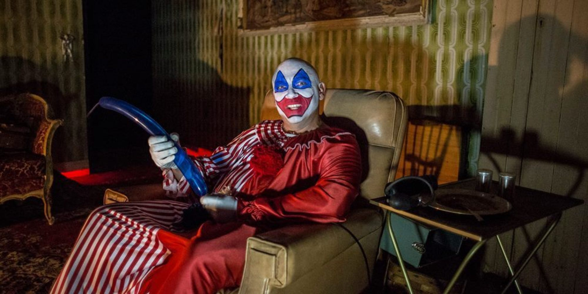Haunted House With John Wayne Gacy Room Erected Near
