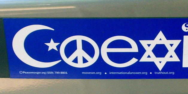 Why the coexist bumper stickers bug me huffpost