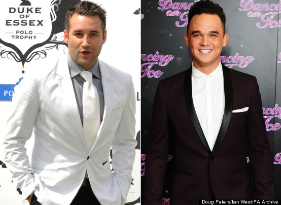 dane bowers gareth gates