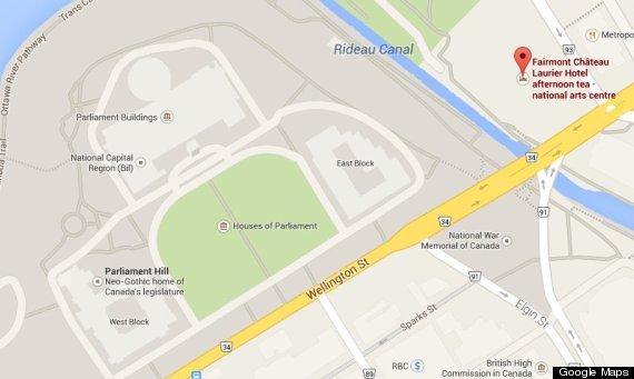 ottawa parliament map